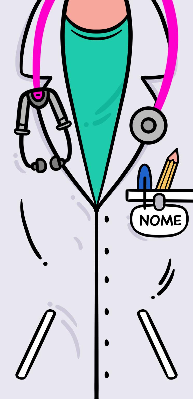 Divisa Dottoressa -Con il tuo Nome