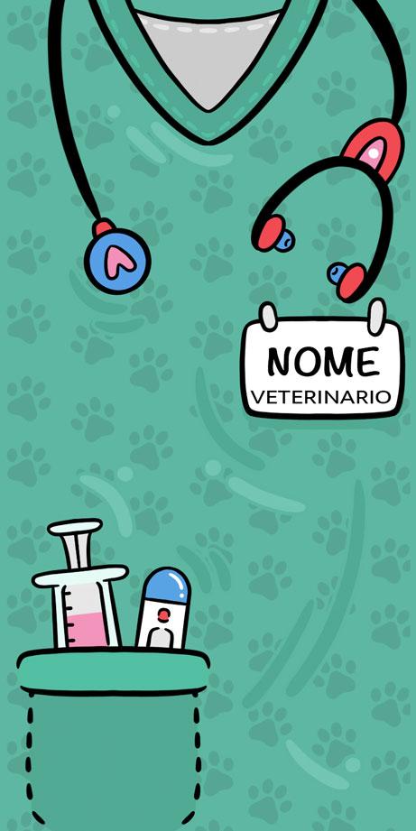 Divisa Veterinario/ Veterinaria- Con il tuo Nome