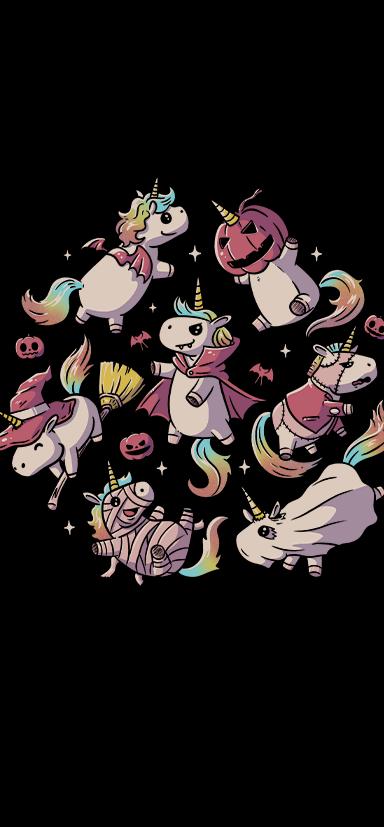 Halloween Unicorns